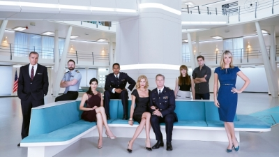 Crew of the SYFY show Ascension